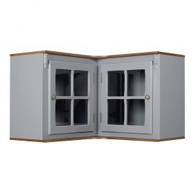 Aéreo de Canto Cozinha 2 portas de vidro Hannover - M550708V