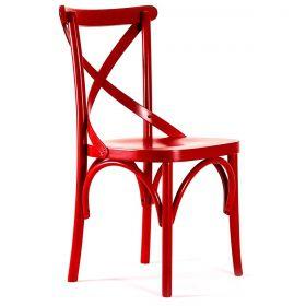 Cadeira de Madeira Curve X