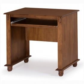 Escrivaninha Antique Pequena com Teclado e Divisor de Ambientes - 604