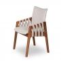 Cadeira Drapê Madeira Maciça
