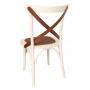Cadeira de Madeira Espanha Assento em Rattan