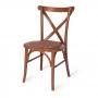 Cadeira de Madeira Espanha Assento em Rattan Empilhável