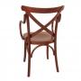 Cadeira de Madeira Espanha com Braço