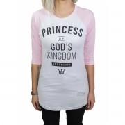 Camiseta Princess -Feminina  #REINODEPONTACABEÇA