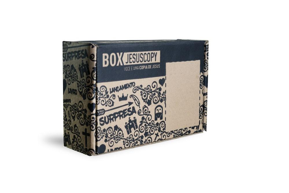 BOX JESUSCOPY - Novas assinaturas de 10/07 a 26/07 para o Box de Agosto  - Jesuscopy