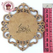 PLACA DECORATIVA 10 x 9