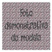 GUARDANAPO ARTESANAL - MODELO 103 - 18x18 cm