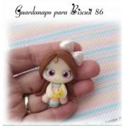 GUARDANAPO ARTESANAL - MODELO 86 - 18x18 cm