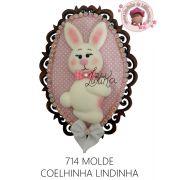 MOLDE COELHINHA LINDINHA