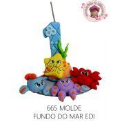 MOLDE FUNDO DO MAR EDI