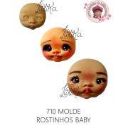 MOLDE ROSTINHO BABY