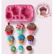 Muffins ou Cupcakes Trio - Kaká