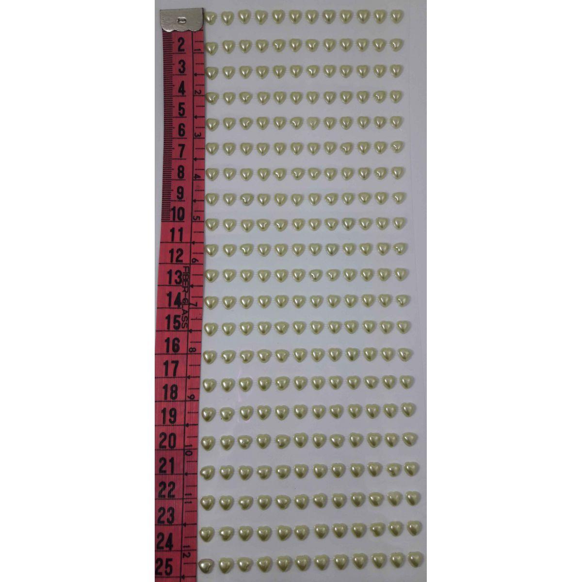 APLIQUE ADESIVO CORAÇÃO 5mm