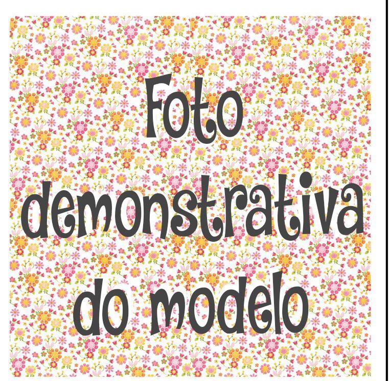 GUARDANAPO ARTESANAL - MODELO 01 - 18x18 cm