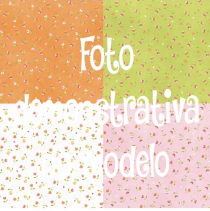 GUARDANAPO ARTESANAL - MODELO 04 - 18x18 cm