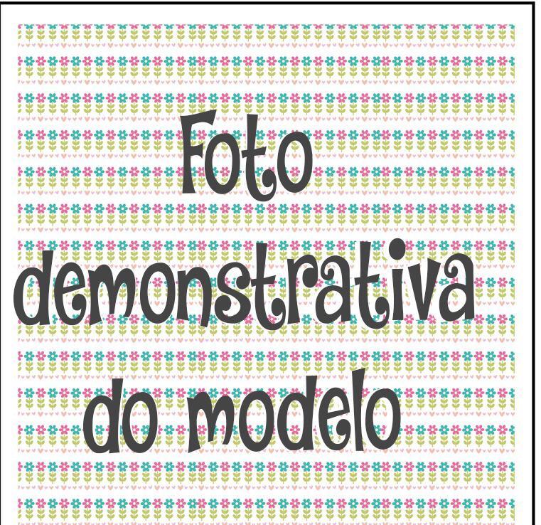 GUARDANAPO ARTESANAL - MODELO 05 - 18x18 cm