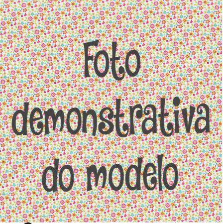 GUARDANAPO ARTESANAL - MODELO 125 - 18x18 cm