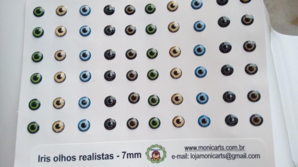 IRIS OLHOS REALISTAS 7mm