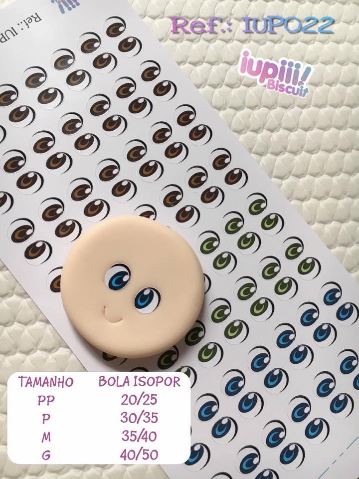 OLHOS ADESIVOS IUP022 Mini