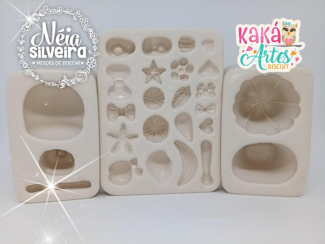 PRINCESINHAS 3D KAKÁ ARTES