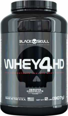 WHEY 4HD BLACKSKULL 900G