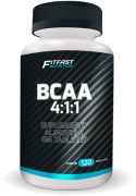 BCAA 4:1:1 - 120 caps - FitFast Nutrition