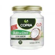 Óleo de Coco 200 ml Sem Sabor - Copra