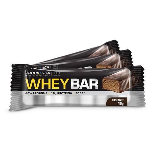 Barra de proteína whey bar 40g - Probiótica