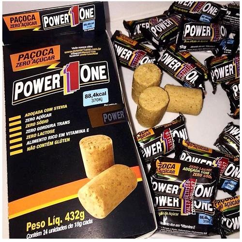 Paçoca Zero açúcar 18g - Power One
