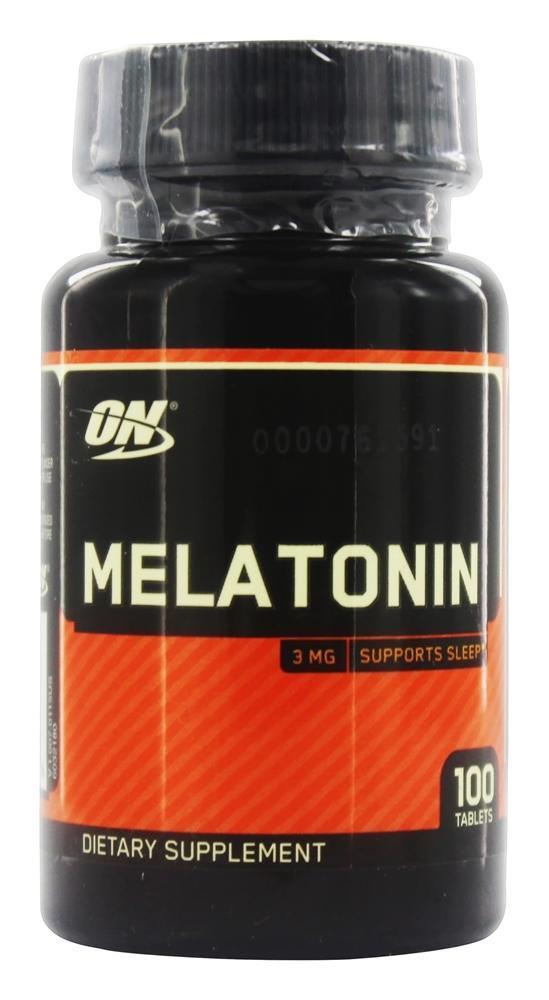 Melatonina 3mg 100 caps - ON