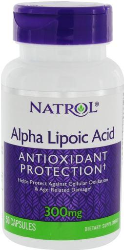 Ácido Alfa Lipóico - 50 cápsulas - 300mg