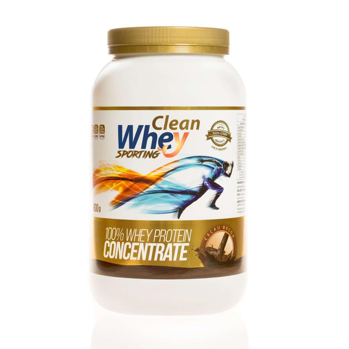 Clean Whey Concentrado - 900g