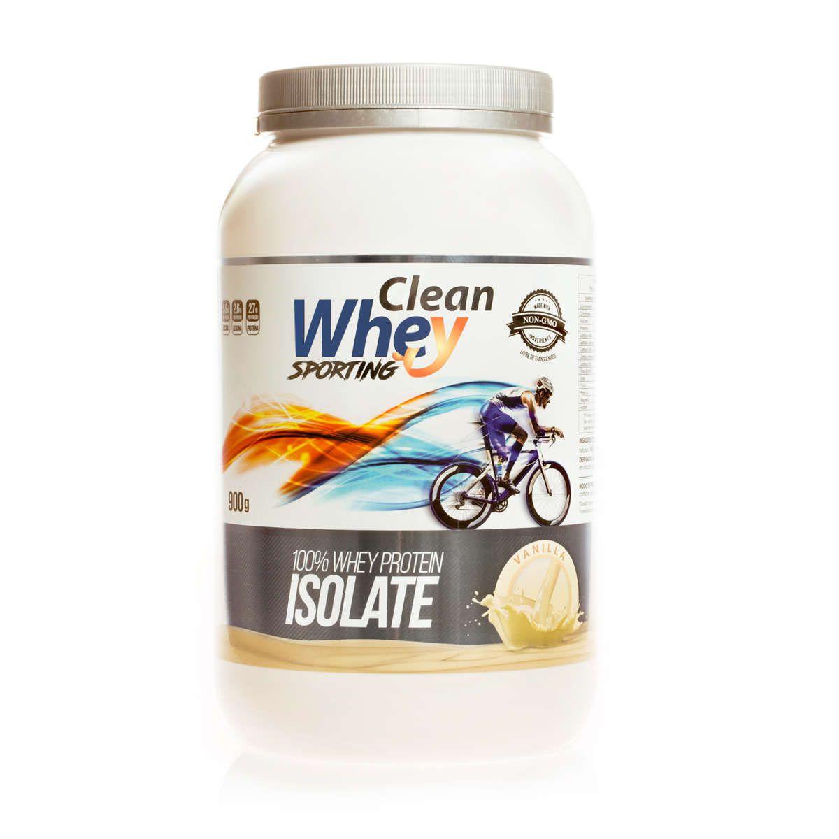 Clean Whey Isolado - 900g