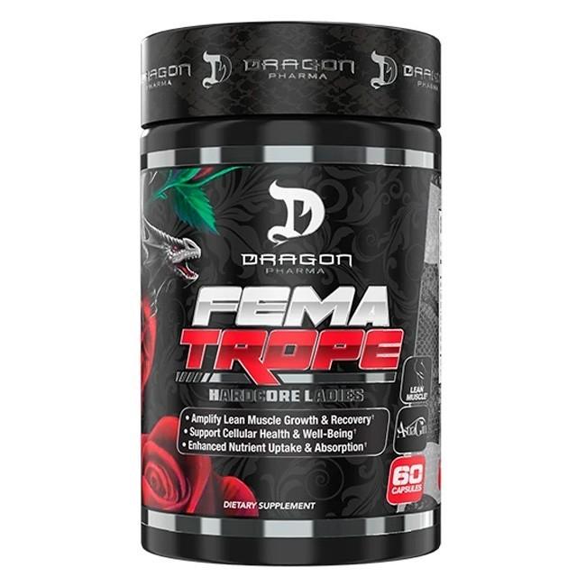 Fematrope - 60 Cápsulas - Dragon Pharma