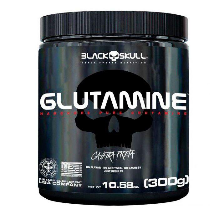 Glutamina - Black Skull