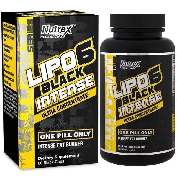 Lipo 6 Intense 60 caps - Nutrex