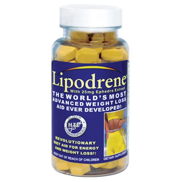 LIPODRENE 100 CAPS -  HTP