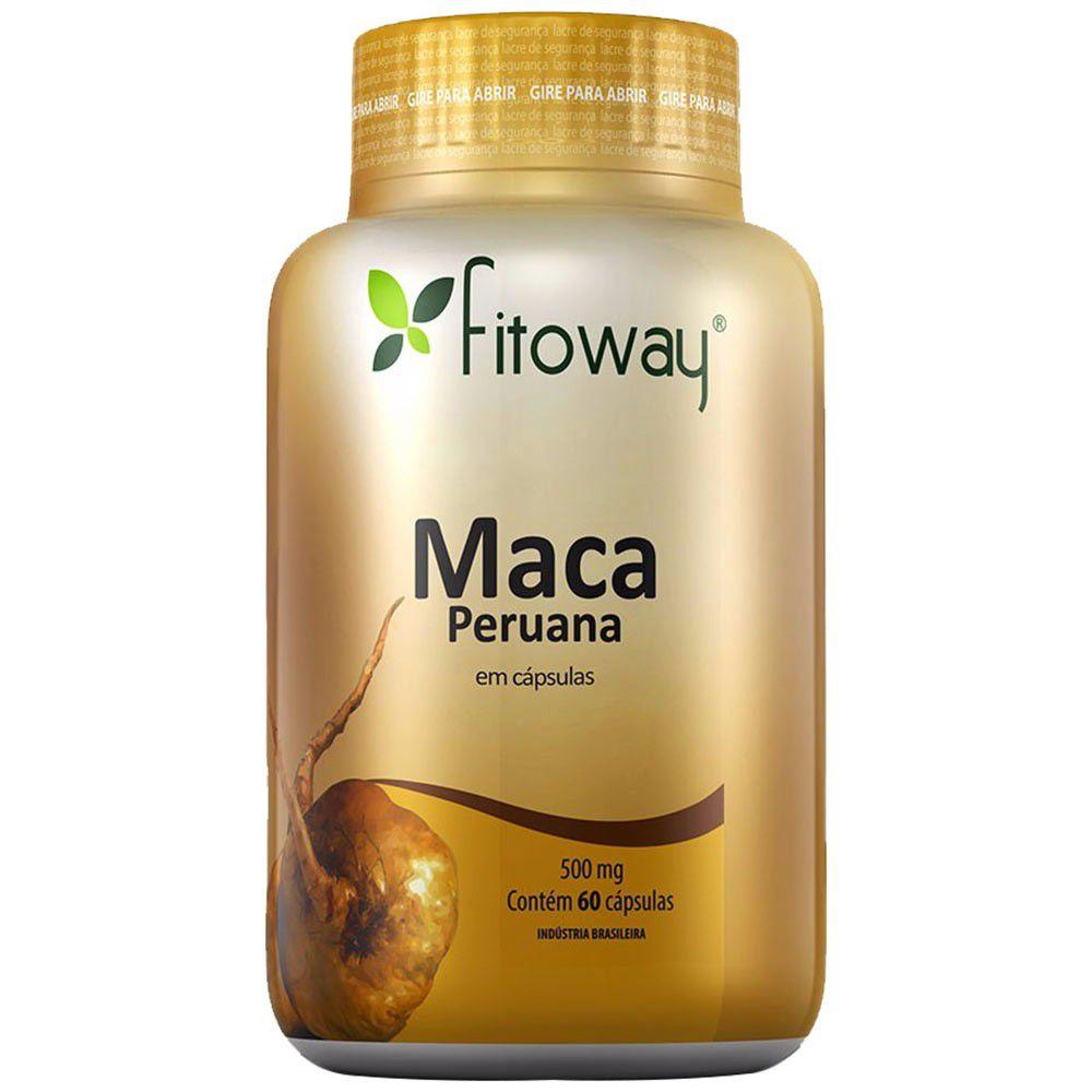 MACA PERUANA 500MG / 60CAPS - FITOWAY