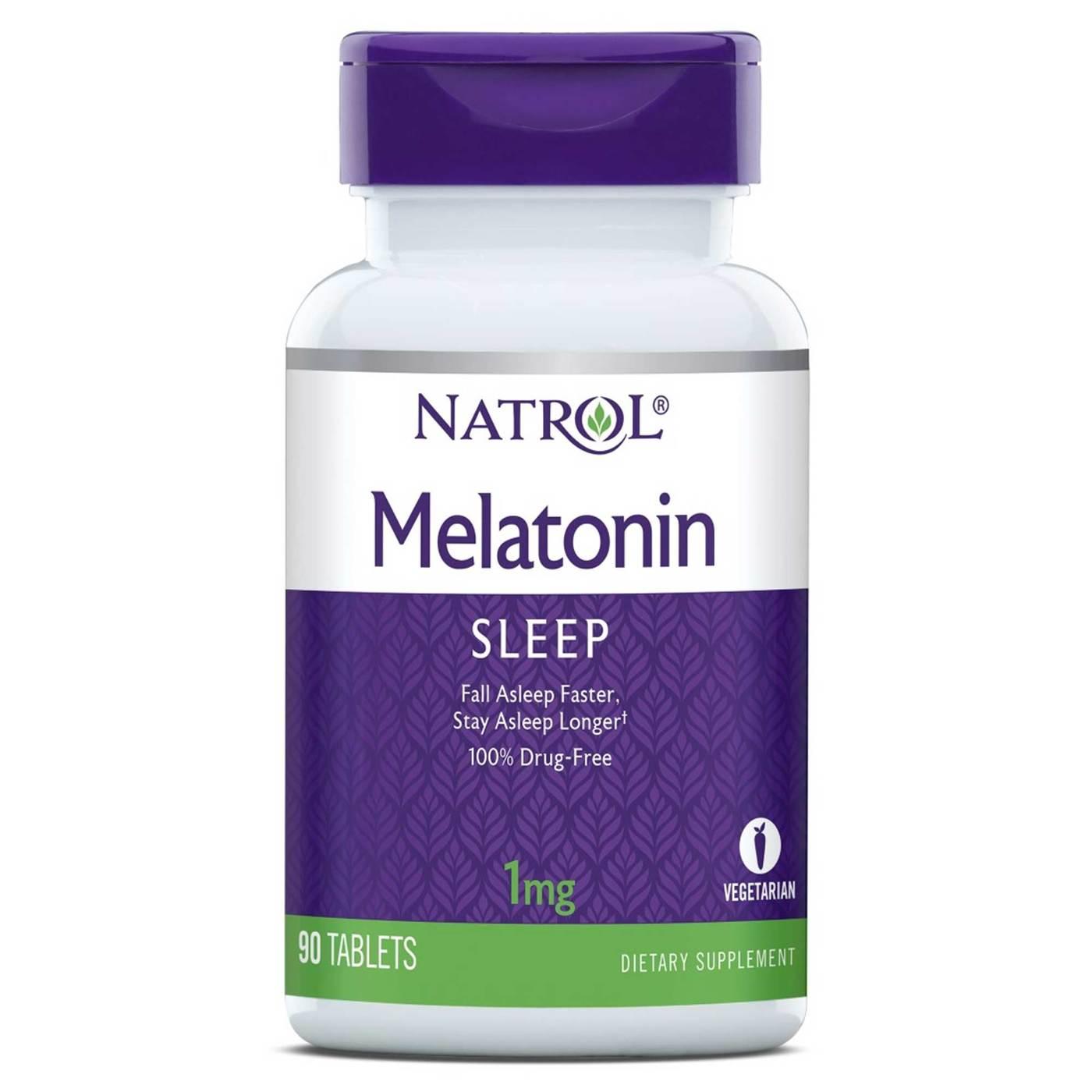 Melatonina 1mg - Natrol