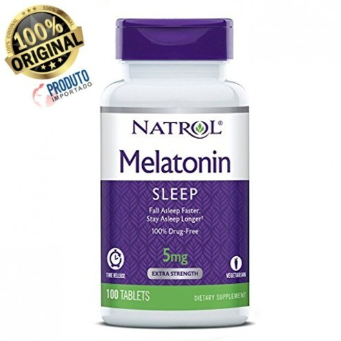 Melatonina TIME RELEASE - 100 Tablets