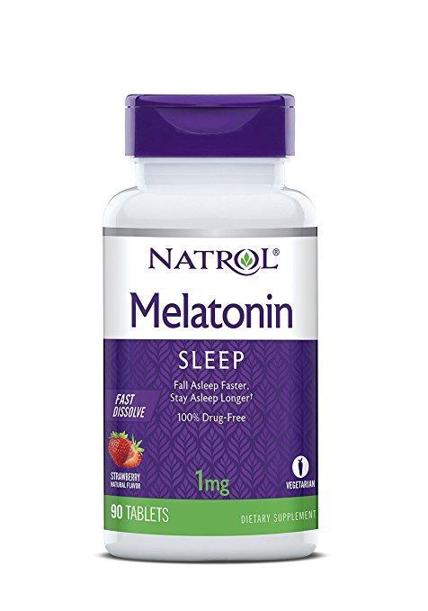 Melatonina Fast Dissolve 90 Tablets 1mg - Natrol