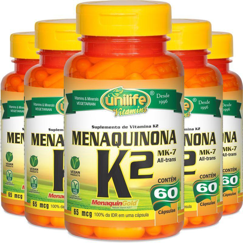 MENAQUINONA K2 MK-7 - 60 CAPS