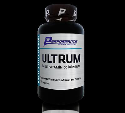 Multivitamínico Ultrum 100 Tabletes - Performance
