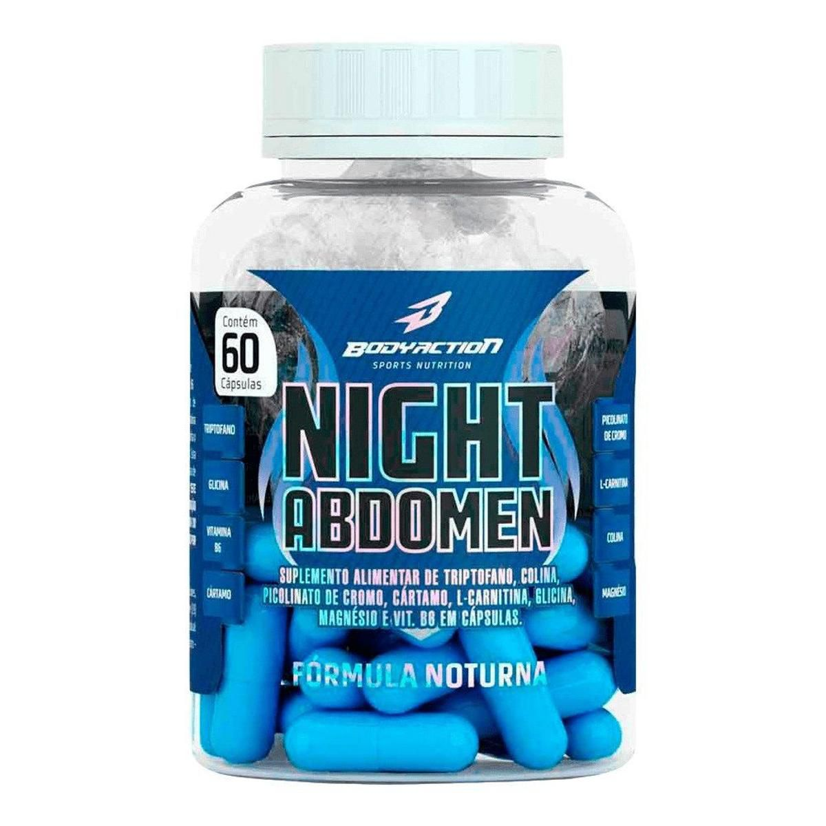THERMO ABDOMEN NIGHT 60 CAPS - BODYACTION