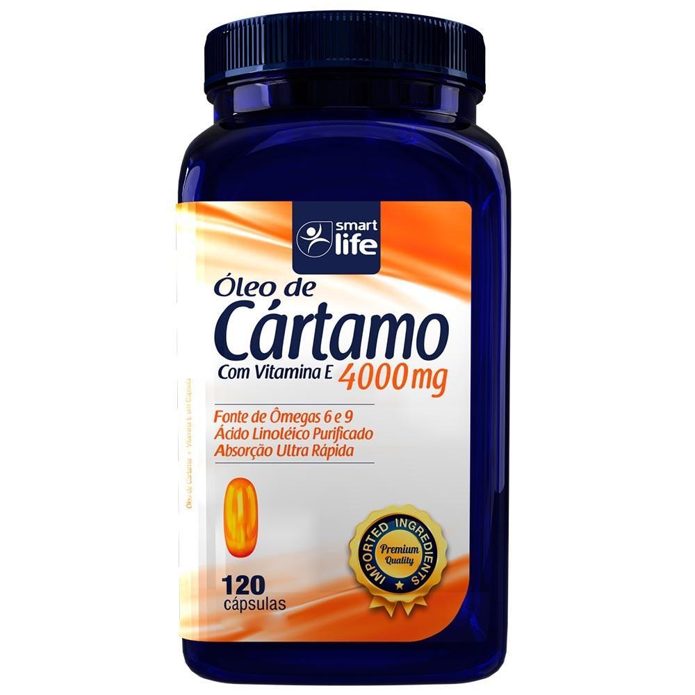 ÓLEO DE CÁRTAMO SMARTLIFE - 120 CAPS
