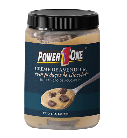 Creme de Amendoim 1kg - Power One