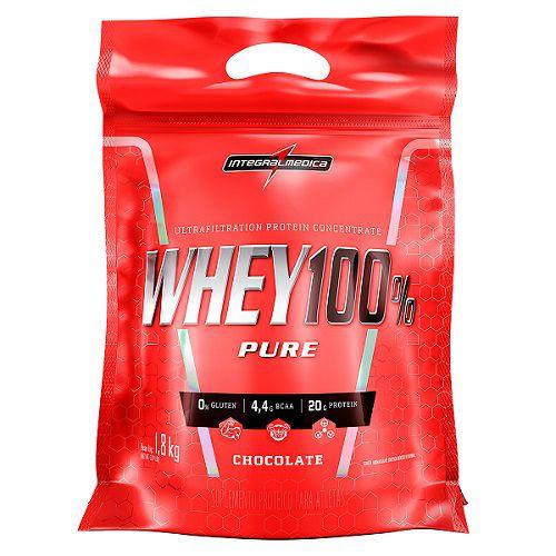 Refil Whey 100% Pure 907g - Integral Medica