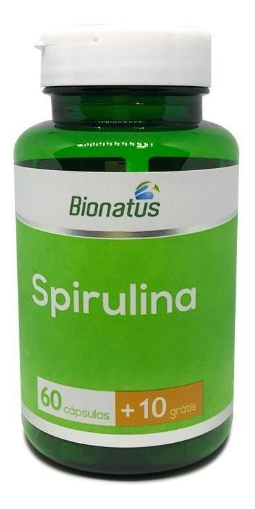 SPIRULINA BIONATUS - 70 CAPS