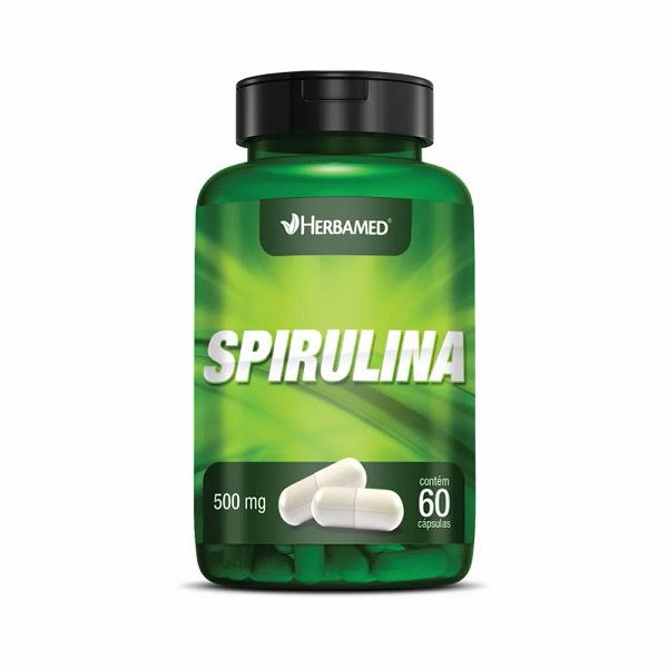 SPIRULINA HERBAMED - 60 CAPS 500MG