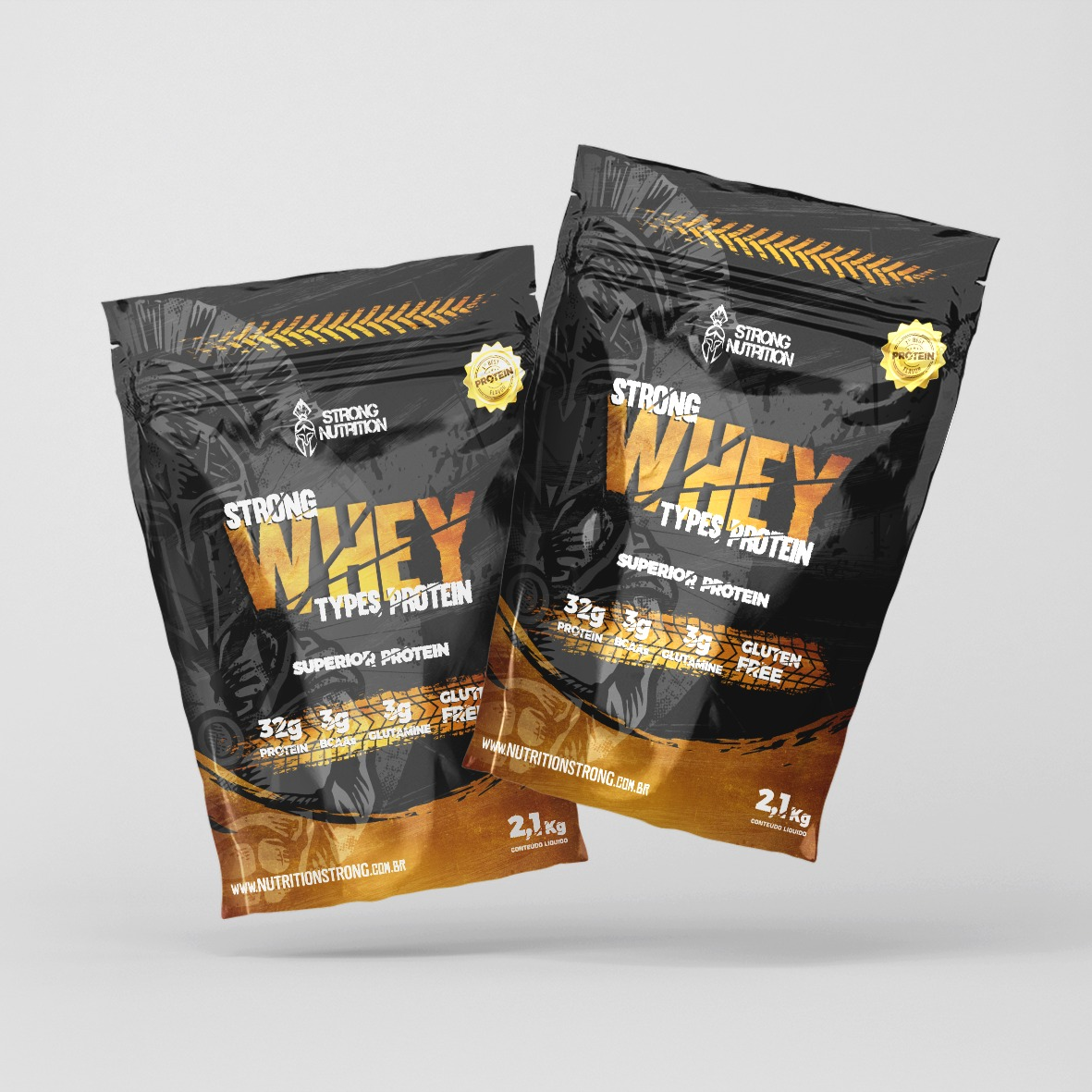 Strong Whey  5w - 2.1kg - Strong Nutrition
